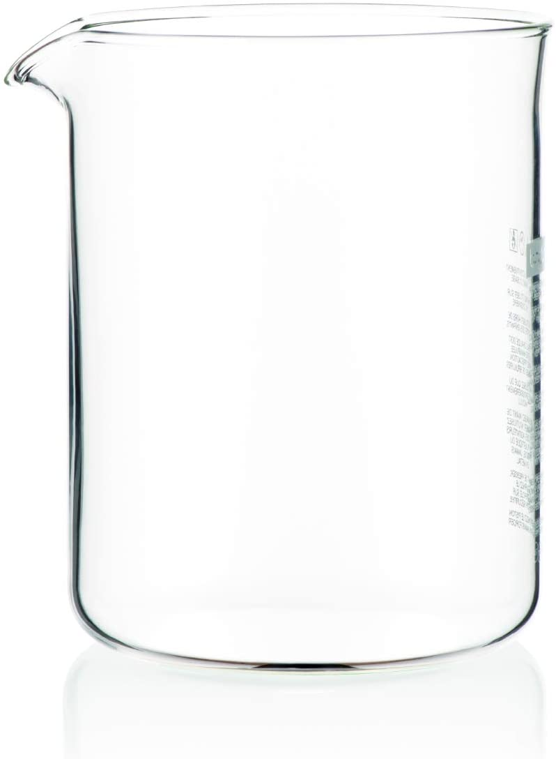0.5L Bodum Spare Glass Liner For 4 Cup French Press Coffee Maker