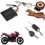 AutoStark Blackcat Motorcycle/Bike Alarm Security System Button Remote Key Anti-Theft Alarm
