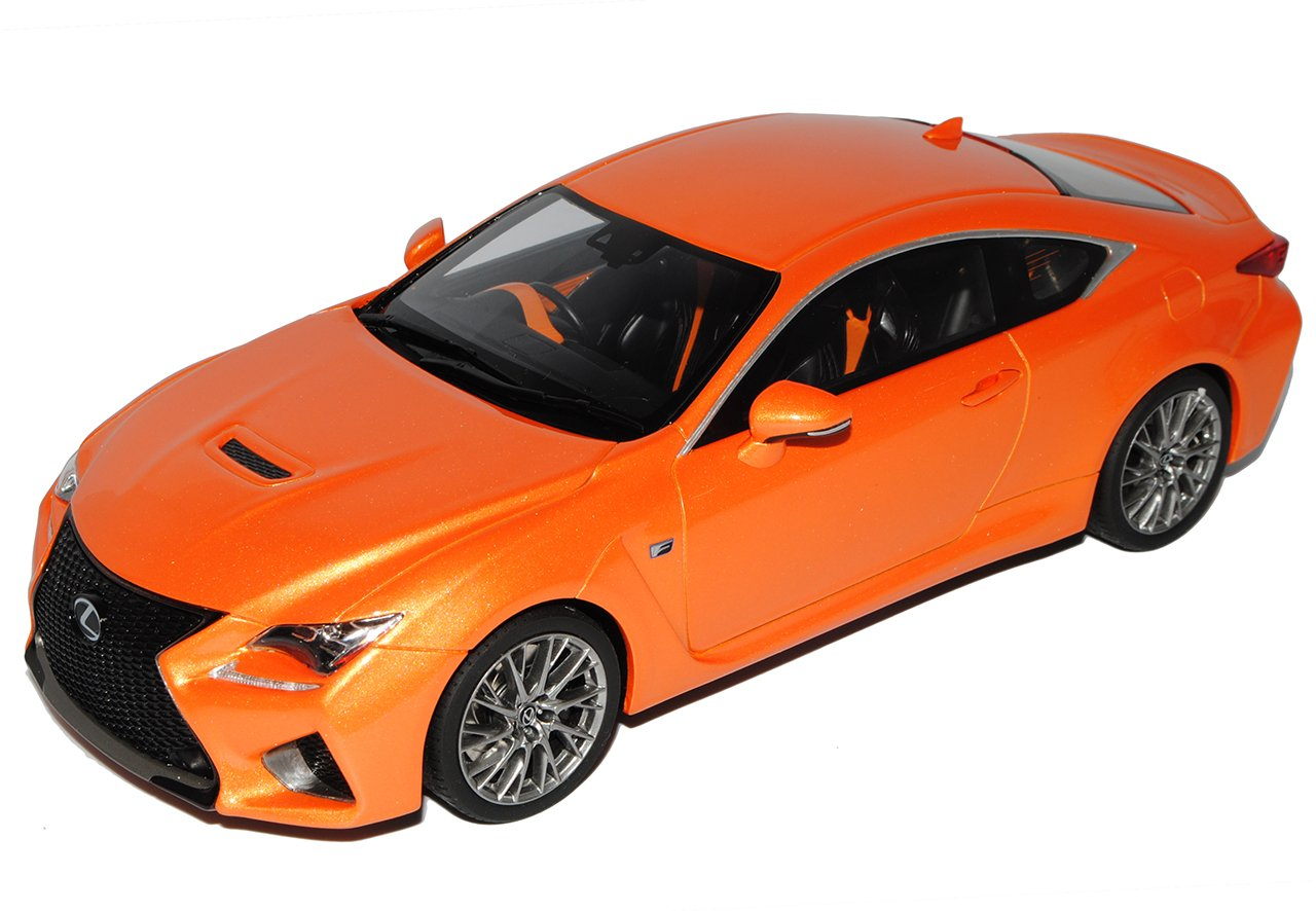 Kyosho Lexus RC F Coupe Orange Ab 2015 1/18 Modell Auto