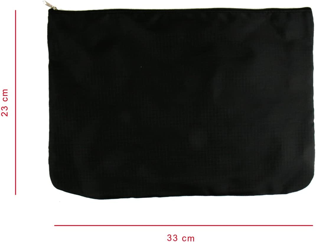 Kleidertaschen Set 6teilig Taschenset Reisetasche in Koffer W/äschebeutel Schuhbeutel Kosmetik Aufbewahrungstasche schwarz