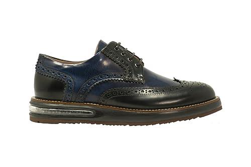 Barleycorn Francesina Scarpa da Uomo in Pelle Spazzolata Color Nero Blu  Calzature Scarpe Eleganti Classiche Derby  MainApps  Amazon.it  Scarpe e  borse 6353375be89