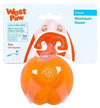 West Paw Design Jive Zogoflex Durable Ball Dog Chew Toy