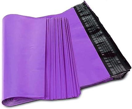 10 Premium 60mu Plastic Purple 10 x 14 Mailing Bags 250x350 Mail Post Self Seal