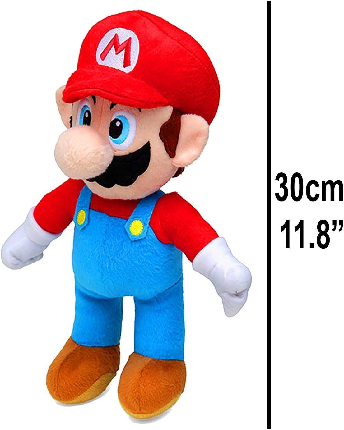 Super Mario (30cm) y Yoshi (27cm) ¡Peluche, Juguetes Suaves, Original, 2 Caracteres Disponibles! (Super Mario_Plush_30cm): Amazon.es: Juguetes y juegos