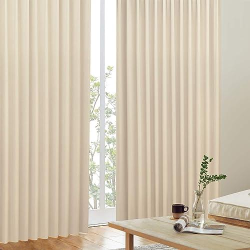 カーテンくれない  遮光カーテン2枚組