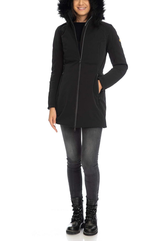 sale retailer b44bc c9a46 CIESSE OUTDOOR Giaccone Donna Rey Softshell Nero: Amazon.it ...