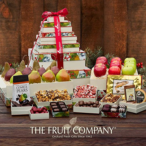 The Fruit Company® Grand Holiday 12-box Tower by The Fruit Company