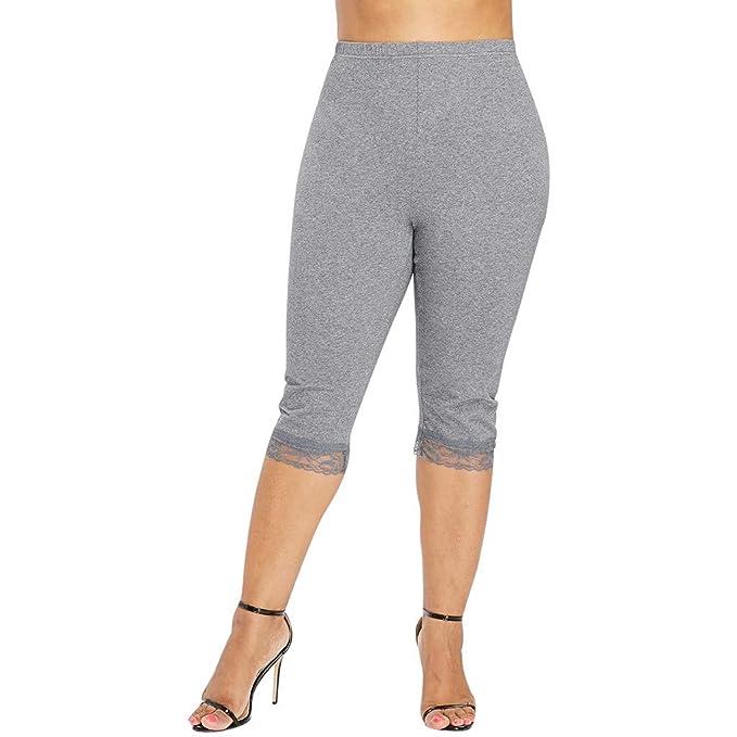cinnamou Pantalon Yoga Mujer, Casual Pantalon Tallas Grandes ...