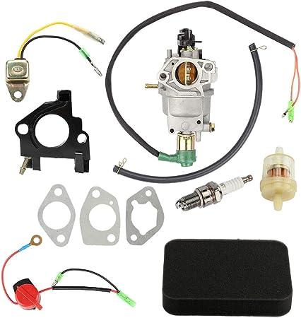 Amazon.com: Mannial Carburador para Honda GX340 GX390 ...