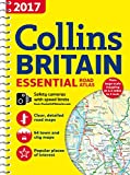 2017 Collins Essential Road Atlas Britain