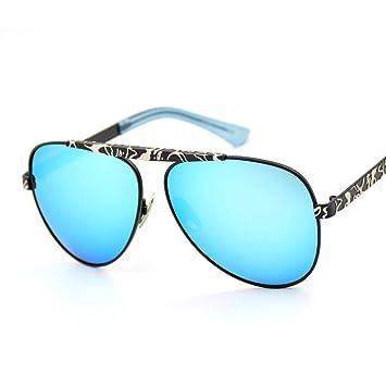 Wkaijc Retro Mode Sonnenbrillen Mode Persönlichkeit Bequem Kreativ Farbfilm Sonnenbrillen ,D