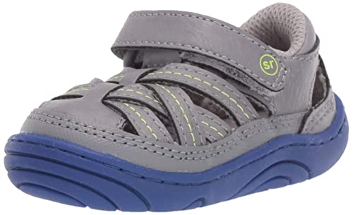 bffe75de98558 Stride Rite Kids Kyle Baby/Toddler Girl's and Boy's Casual Double-Strap  Sneaker First Walker Shoe