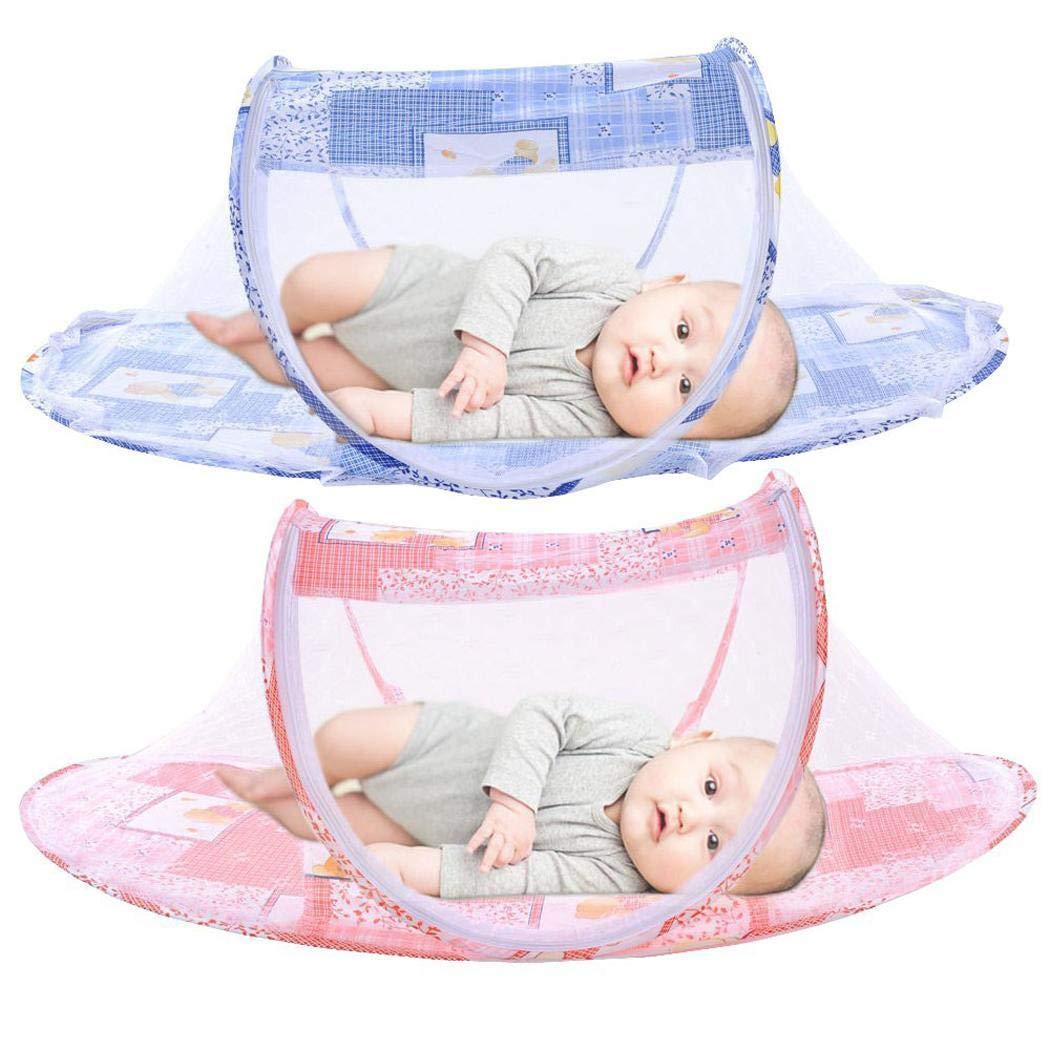 loukou Foldable Infant Baby Mosquito Net Tent Travel Instant Crib Crib Netting