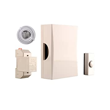 Byron 720K Wired doorbell kit - Complete set - Classic sound: Amazon ...