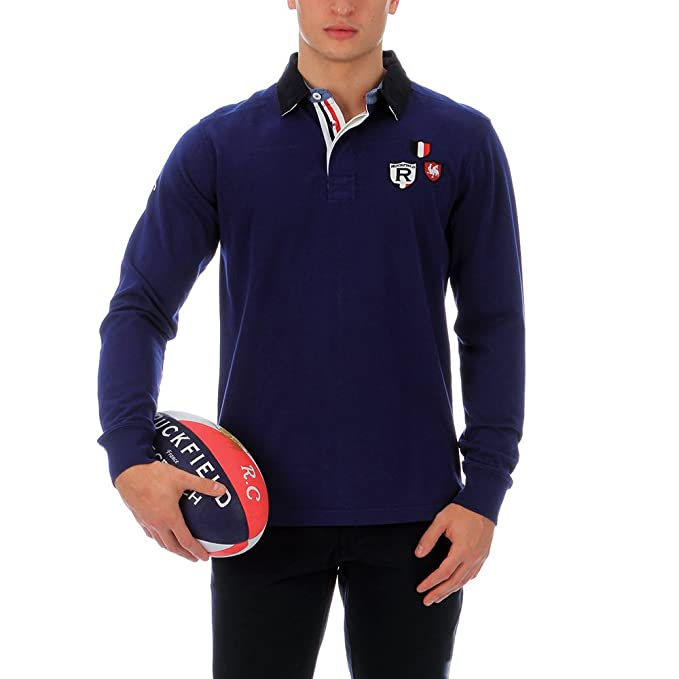 Ruckfield-Polo Ruckfield Francia, color azul azul XL: Amazon.es ...