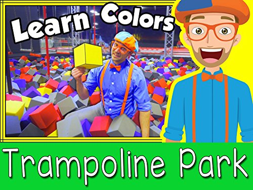 Fun Indoor Trampoline Park for Kids with Blippi (Show Video)