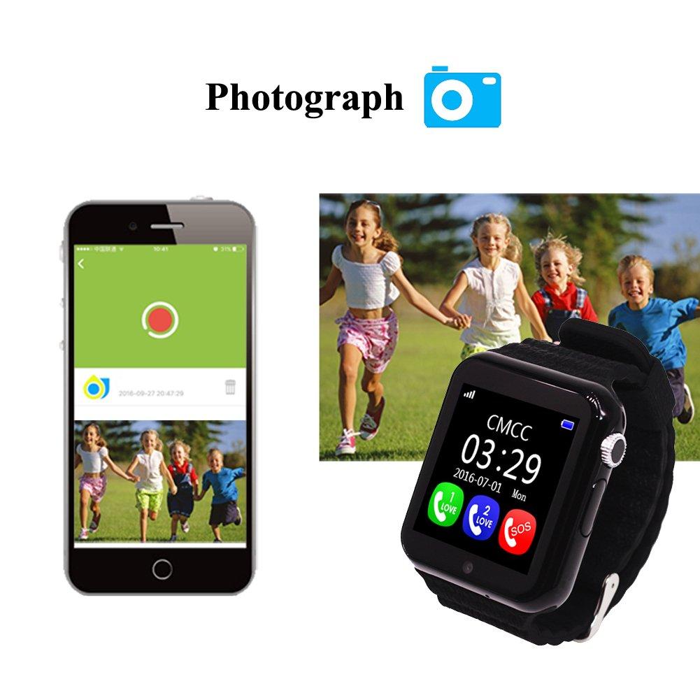 Smartwatch Niños Reloj Inteligente Mujer y Hombre Demiawaking ...