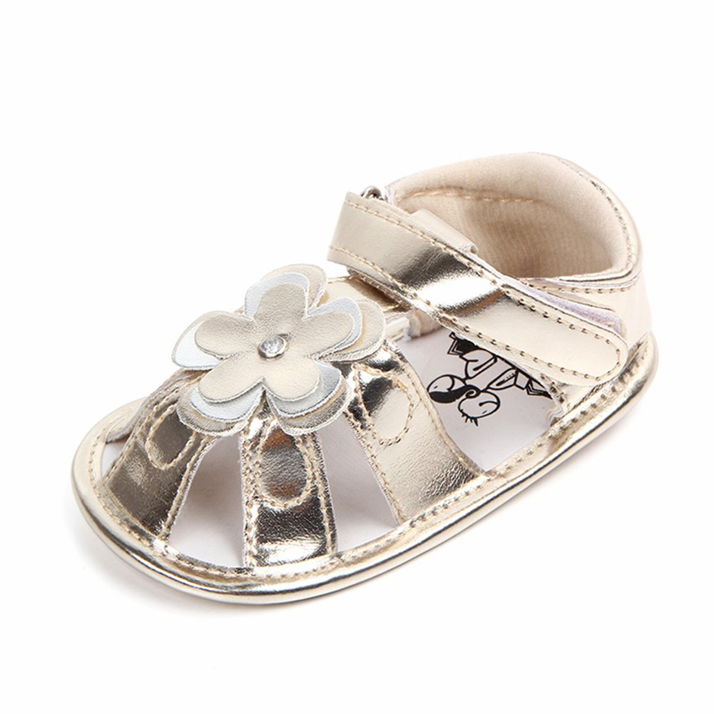 Baby Girl Sandals Summer Infant Toddlers Flat Heels Lace-up Sandals PU Leather Sandals