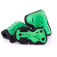 SFR Essentials Triple Pad Set AC760 - Green Large (Age 8-13)