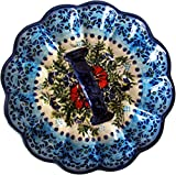 Boleslawiec Polish Pottery Deviled Egg Serving Plate Eva's Collection''Veronica''