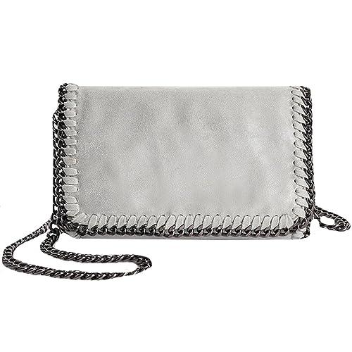 Amazon.com: Felice - Bolso bandolera con cadena y ...