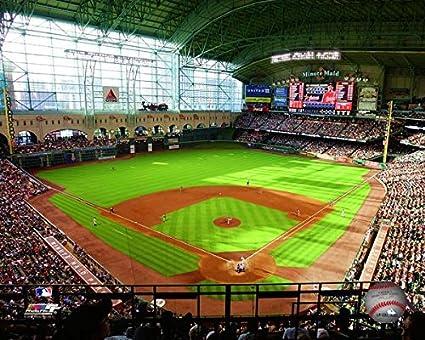 Amazon Com Houston Astros Minute Maid Park Mlb Stadium Photo Size 8 X 10 Sports Outdoors
