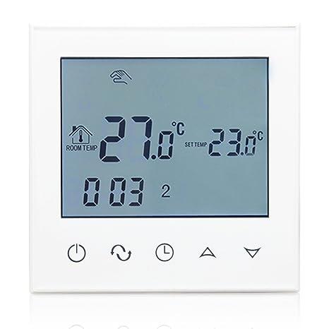 Termostato digital Beok TGT21, programable, inteligente, para suelo radiante, control de temperatura