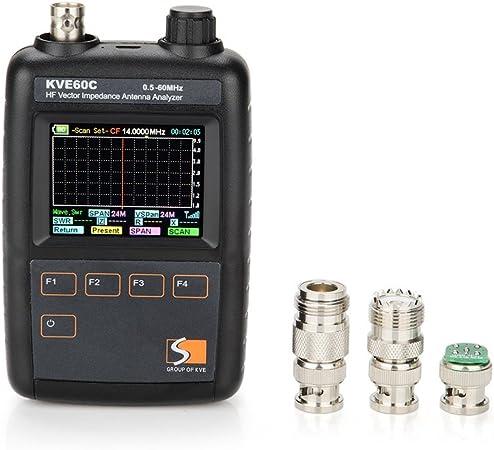 lightwish – kve60 C kve60 C HF Vector impedancia antena ...