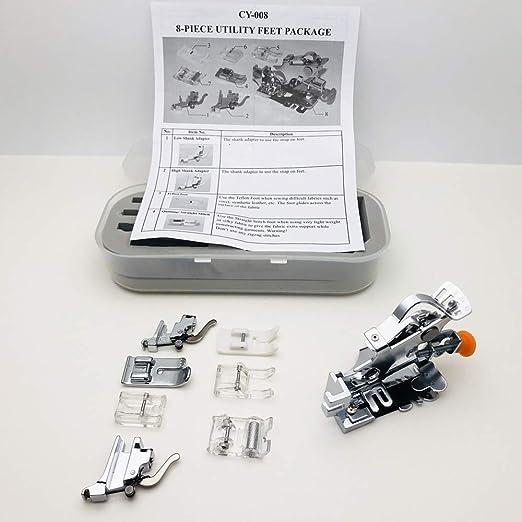 Austin® Ruffler and Utility Presser Set de pie de Regalo para ...