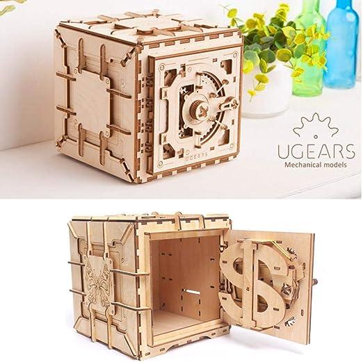 navigatee Estuche De Almacenamiento, Innovador Rompecabezas De Madera Treasure Box Girl Storage Joyero: Amazon.es: Hogar