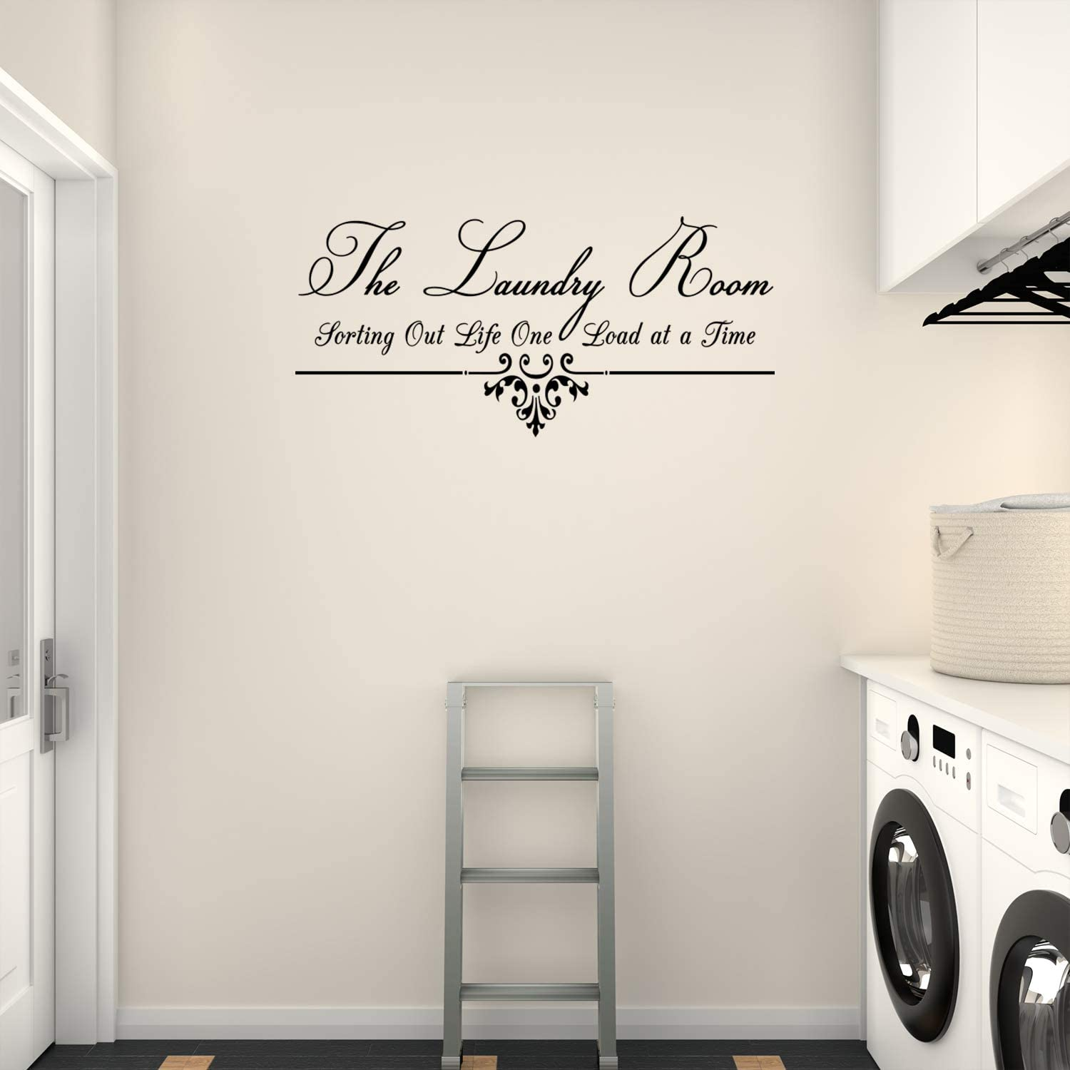 Empresal Laundry Room Wall Decal Sorting Out Life Vinyl Words Stickers Art Home Decor Signs Sticker Removable Lettering