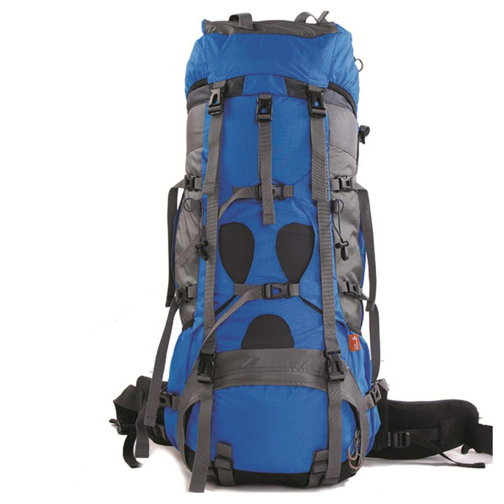 XY&CF- Hiking Backpacks Camping Rucksack 85L Multifunktions Outdoor Bergsteigen Tasche Wandern Rucksack Männer und Frauen Camping Rucksack (blau)