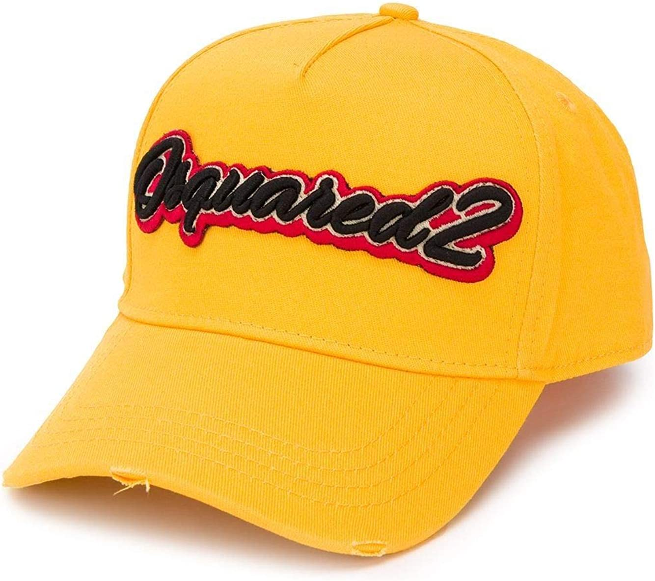 DSQUARED2 Luxury Fashion Mens BCM031305C000017047 Yellow Hat | Spring Summer 20