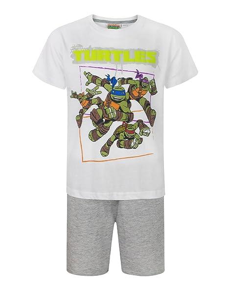 Amazon.com: Teenage Mutant Ninja Turtles Group Boys Pyjamas ...
