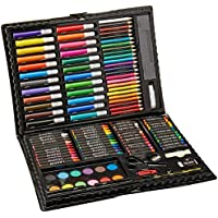 Darice 120-Piece Deluxe Art Set – Art Supplies for...