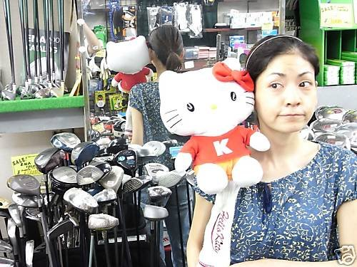 Hello Kitty Driver Head Cover Japan Model, Outdoor Stuffs