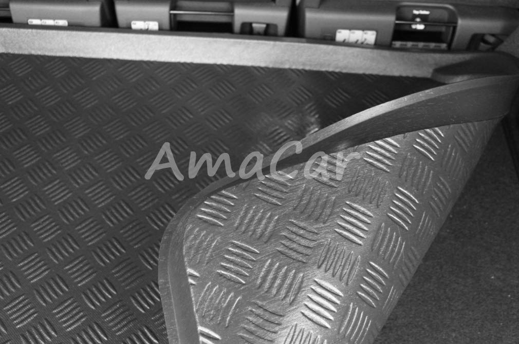 Cubrecar  Protector Cubre Maletero para A3 Todos los Modelos 8L 8P 8V a Medida espec/ífica para Este Modelo Bandeja cubremaletero cubeta Alfombra Alfombrilla Esterilla Audi A3 III 3//5p 2012-2019