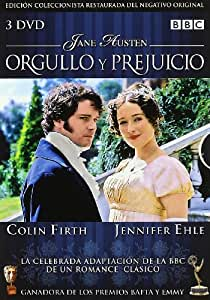 Orgullo Y Prejuicio (1995) [DVD]: Amazon.es: Colin Firth