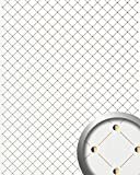 WallFace 17856 3D Wall panel self-adhesive Mosaic decor Luxury wallcovering self-adhesive pearlwhite gold | 2,60 sqm