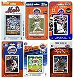 MLB New York Mets 6 Different Licensed Trading Card Team Sets