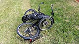 Adventure Cycles T Series Recumbent Trike Folding Adult Tricycle Generation 2