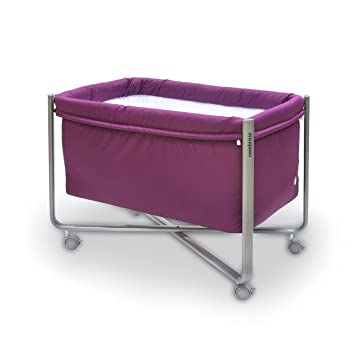Amazon.com : Cambrass 56.5 x 92 x 64.5 cm Bed Urban Liso E (Small, Purple/ Grey) : Baby