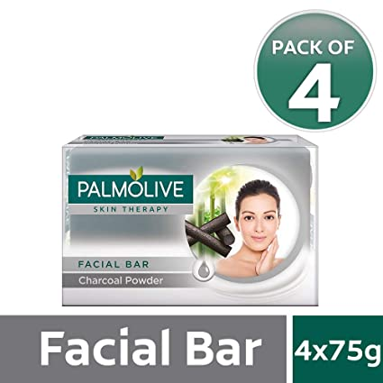Buy Palmolive Skin Therapy Facial Bar Soap with Charcoal Powder - 75g (Pack  of 4) Online at Low Prices in India - Amazon.in 4e6a566f2