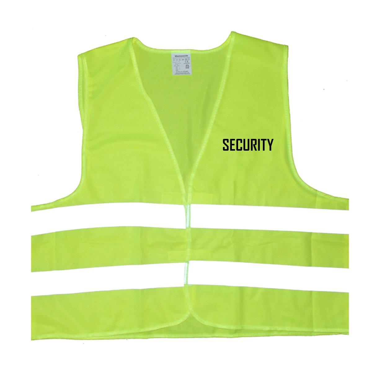 Einheitsgr/ö/ße bis XXL Security Warnweste