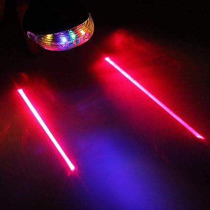 Snner 5 LED Laser v/élo v/élo Lampe arri/ère arri/ère Laser /étanche met en Garde Contre Clignotant