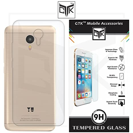 new products 6c7de da737 Micromax Evok Note Back Cover + Tempered Glass: Amazon.in: Electronics