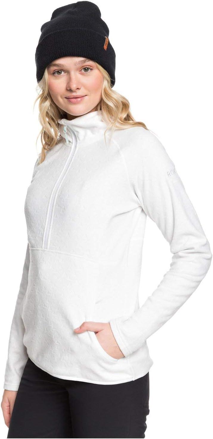Roxy Damen Cascade Funktions-Fleece mit Rei/ßverschluss