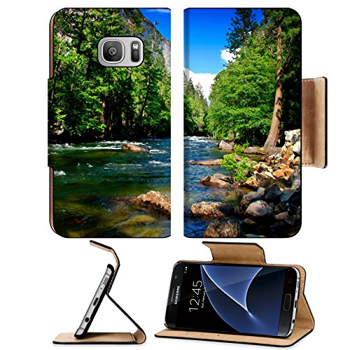 Luxlady Premium Samsung Galaxy S7 Flip Pu Leather Wallet Case El Capitan is a 3 000 foot vertical rock formation in Yosemite Valley and Yosemite National Park It is one - Popu Most