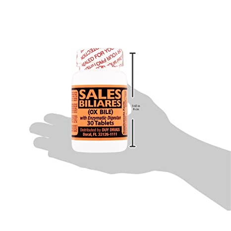 Sales Biliares (OX BILE) 30 Tablets