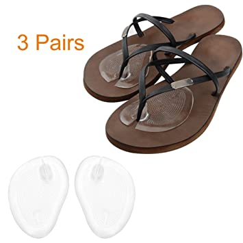 41718a948 Image Unavailable. Image not available for. Color  Dr.Tu Silicone Gel Thong  Sandal Spreader - Flip-Flop Gel Toe Guards Cushions